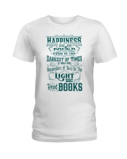HAPPINESS IS READ BOOKS Ladies T-Shirt thumbnail