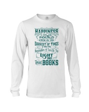 HAPPINESS IS READ BOOKS Long Sleeve Tee thumbnail