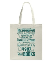 HAPPINESS IS READ BOOKS Tote Bag thumbnail