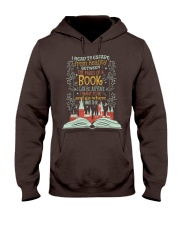 I READ TO ESCAPE FROM REALITY Hooded Sweatshirt thumbnail