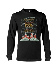 I READ TO ESCAPE FROM REALITY Long Sleeve Tee thumbnail