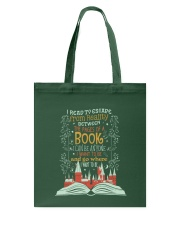 I READ TO ESCAPE FROM REALITY Tote Bag thumbnail