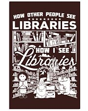 How Reading Addicts see Libraries 11x17 Poster thumbnail