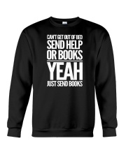Just Send BOOKS Crewneck Sweatshirt tile