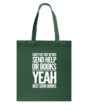Just Send BOOKS Tote Bag thumbnail