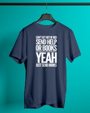 Just Send BOOKS Classic T-Shirt lifestyle-mens-crewneck-front-3