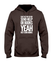 Just Send BOOKS Hooded Sweatshirt tile