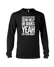 Just Send BOOKS Long Sleeve Tee tile