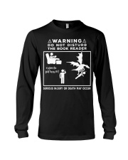 DO NOT DISTURB THE BOOK READER Long Sleeve Tee tile