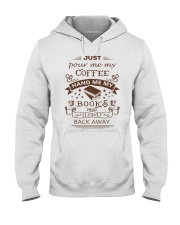 BOOKS and COFFEE- HAPPY PLACE Hooded Sweatshirt thumbnail