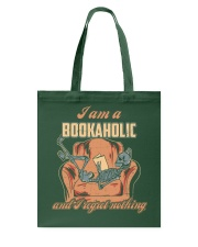 I AM A BOOKAHOLIC AND I REGRET NOTHING Tote Bag thumbnail