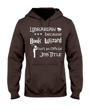Librarian -  Book Wizard Hooded Sweatshirt thumbnail