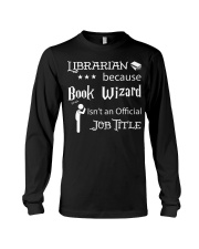 Librarian -  Book Wizard Long Sleeve Tee thumbnail