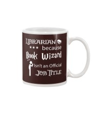 Librarian -  Book Wizard Mug tile