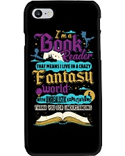I'm A Book Reader-I Live in a Crazy Fantasy World Phone Case tile