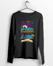 I'm A Book Reader-I Live in a Crazy Fantasy World Long Sleeve Tee lifestyle-unisex-longsleeve-front-3