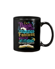I'm A Book Reader-I Live in a Crazy Fantasy World Mug thumbnail