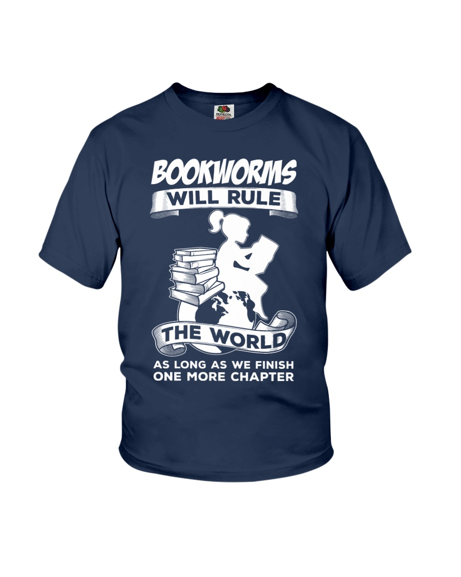 Bookworms Will Rule the World Youth T-Shirt