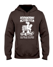 Bookworms Will Rule the World Hooded Sweatshirt thumbnail