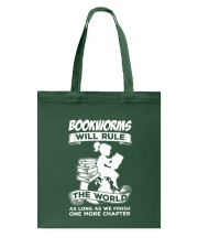 Bookworms Will Rule the World Tote Bag thumbnail
