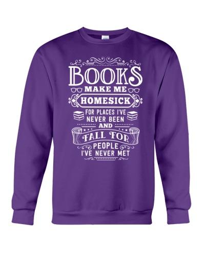 BOOKS MAKE ME HOMESICK