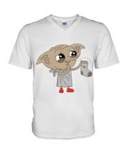 Cute af V-Neck T-Shirt thumbnail