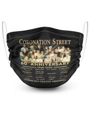 coronation street 2 Layer Face Mask - Single thumbnail