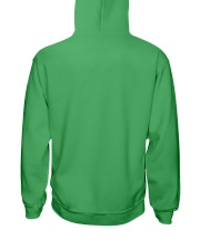 fishing hook shamrock Hooded Sweatshirt back