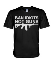 GUNS V-Neck T-Shirt thumbnail
