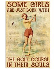 Golf poster 15 D2 11x17 Poster front