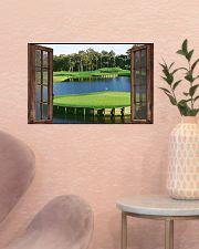 Golf poster 7 D3 17x11 Poster poster-landscape-17x11-lifestyle-22
