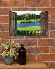 Golf poster 7 D3 17x11 Poster poster-landscape-17x11-lifestyle-23