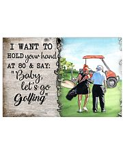 Golf poster 34 D4 17x11 Poster front