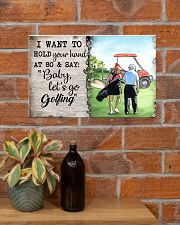 Golf poster 34 D4 17x11 Poster poster-landscape-17x11-lifestyle-23
