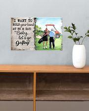 Golf poster 34 D4 17x11 Poster poster-landscape-17x11-lifestyle-24