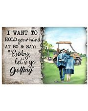 Golf poster 18 D4 17x11 Poster front