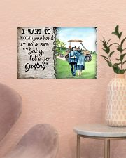 Golf poster 18 D4 17x11 Poster poster-landscape-17x11-lifestyle-22