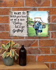 Golf poster 18 D4 17x11 Poster poster-landscape-17x11-lifestyle-23