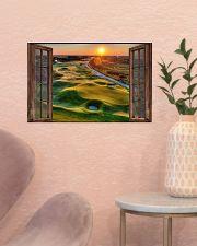Golf poster 8 D3 17x11 Poster poster-landscape-17x11-lifestyle-22