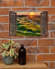 Golf poster 8 D3 17x11 Poster poster-landscape-17x11-lifestyle-23