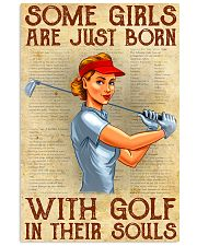 Golf poster 39 D2 11x17 Poster front