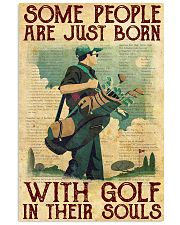Golf poster 14 D2 11x17 Poster front