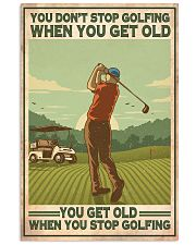Golf poster 37 D4 11x17 Poster front