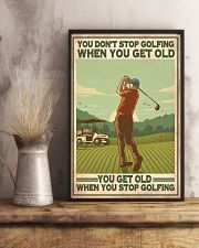 Golf poster 37 D4 11x17 Poster lifestyle-poster-3