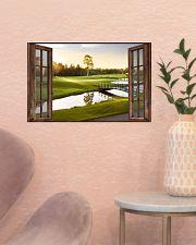 Golf poster 6 D3 17x11 Poster poster-landscape-17x11-lifestyle-22