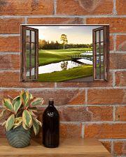 Golf poster 6 D3 17x11 Poster poster-landscape-17x11-lifestyle-23