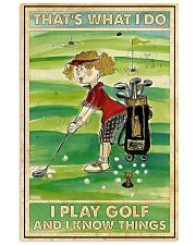 Golf poster 38 D2 11x17 Poster front
