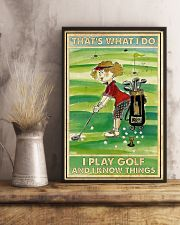 Golf poster 38 D2 11x17 Poster lifestyle-poster-3