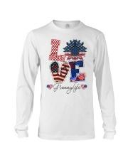 Flag Love Grannylife Sunflower Long Sleeve Tee thumbnail