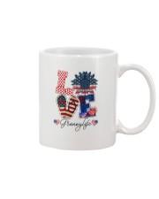 Flag Love Grannylife Sunflower Mug thumbnail